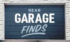Select to shop the limited Gear Garage Finds, available while supplies last